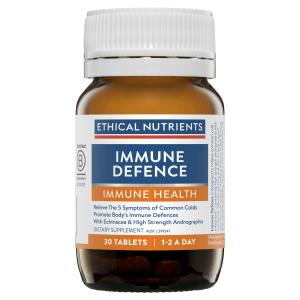 Ethical Nutrients IMMUZORB Immune Defence 30 Tablets