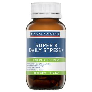 Ethical Nutrients Super B Daily Stress + 60 Tablets