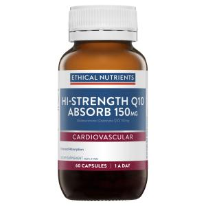 Ethical Nutrients Hi-Strength Q10 Absorb 150mg 60 Capsules