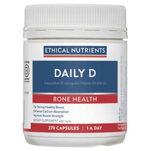 Ethical Nutrients FLEXIZORB Daily D 270 Capsules