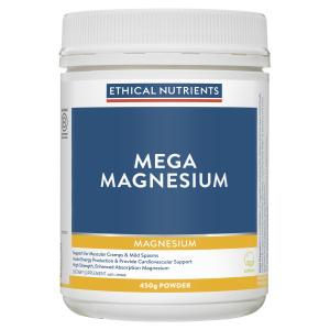 Ethical Nutrients MEGAZORB Mega Magnesium Citrus 450g Powder